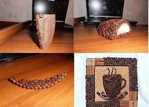 Топиарий из кофе - это всегда уникальный предмет интерьера, создание которого зависит только от вашего воображения